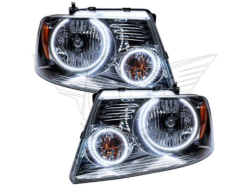 Oracle Chrome OE Style Headlights w/ CCFL Halos (04-08 F-150)