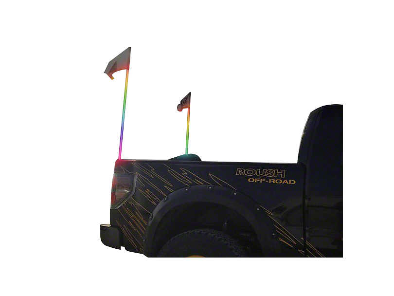 Oracle Off-Road 4 ft. LED Whip - ColorSHIFT (97-19 F-150)