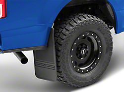 Husky MudDog Mud Flaps; Rear (Universal; Some Adaptation May Be Required)