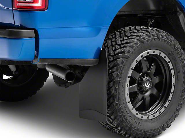 Husky 12 in. Wide Mud Flaps - Black Weight (97-19 F-150)