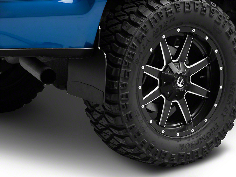 Husky 14 in. Wide Mud Flaps - Black Weight (97-19 F-150)