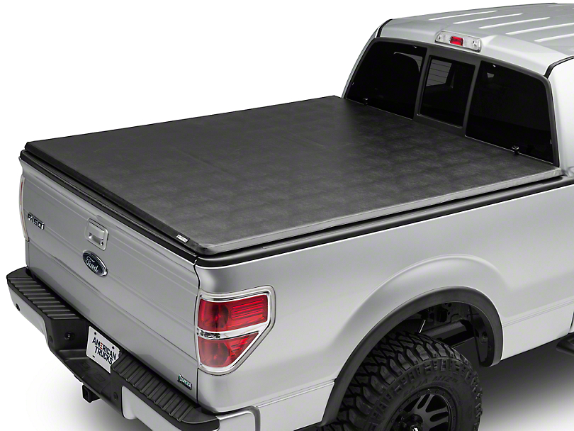 Barricade Hard Folding Bed Cover (09-14 F-150 Styleside)