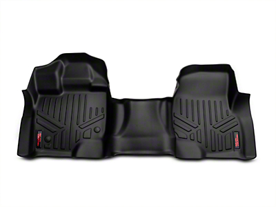 Rough Country Heavy Duty Front Floor Mats - Black (15-18 F-150)