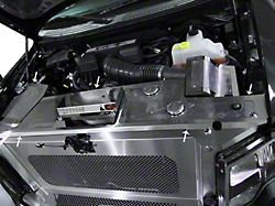Perforated Header Plate with Battery Cover and Fuse Box (10-14 F-150 Raptor)