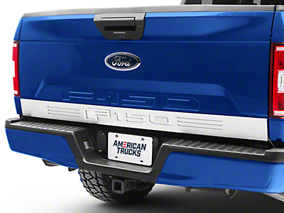 ACC Illuminated Brushed Tailgate Rocker Panel w/ F-150 Lettering (15-18 F-150)