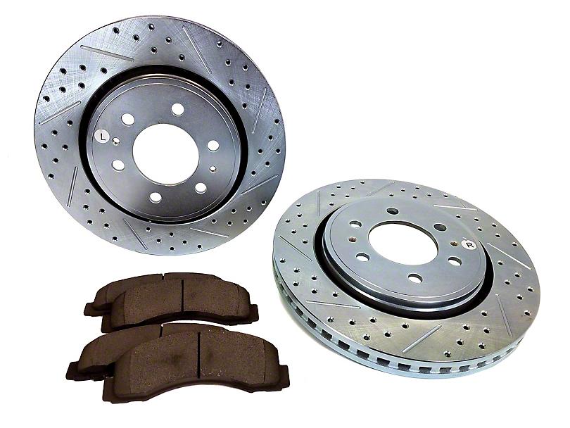 Baer Sport Brake Rotor & Pad Kit - Front (10-20 F-150)
