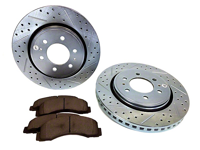 Baer Sport Brake Rotor and Pad Kit; Front (10-20 F-150)