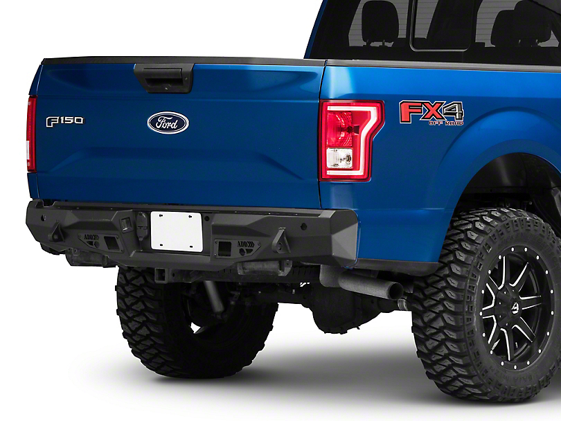 Addictive Desert Designs Stealth Fighter Rear Bumper (15-20 F-150, Excluding Raptor)