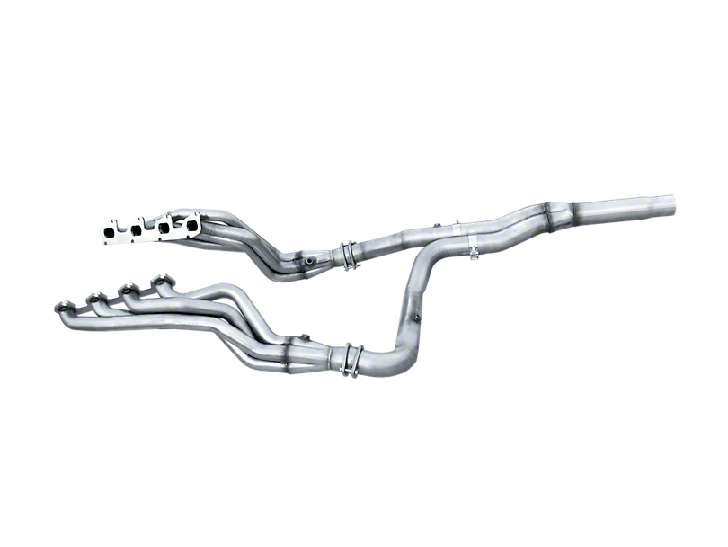 American Racing Headers 1-7/8 in. Long Tube Headers w/ Off-Road Y-Pipe & Pure Thunder Dual Exhaust System - Side Exit (10-14 6.2L F-150 Raptor)