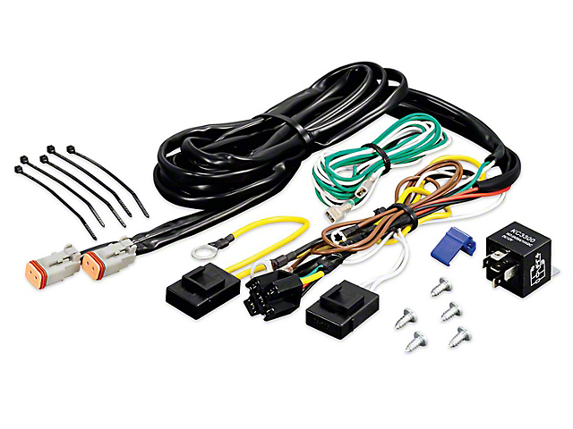 KC HiLiTES Add-On Wiring Harness (97-19 F-150)