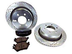 Baer Sport Brake Rotor & Pad Kit - Rear (12-14 F-150; 15-20 F-150 w/Manual Parking Brake)