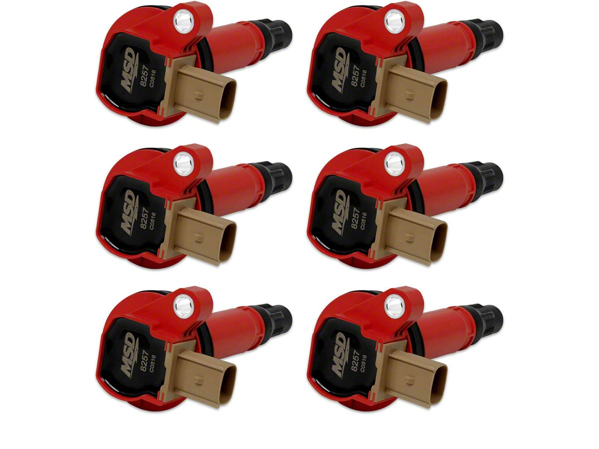 MSD Coil Packs - Red (11-14 3 5L EcoBoost F-150)