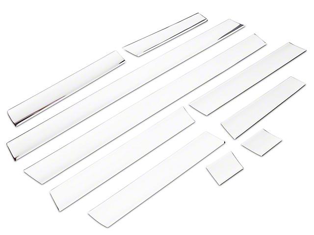Rocker Panel Trim; Stainless Steel (04-08 F-150 Styleside)