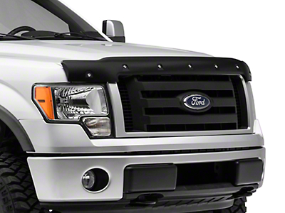 Barricade Premium Bolt-On Look Hood Deflector (09-14 F-150, Excluding Raptor)