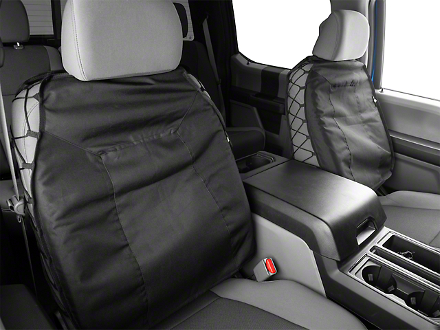 Smittybilt G.E.A.R. Custom Fit Front Seat Covers; Black (Universal Fitment)