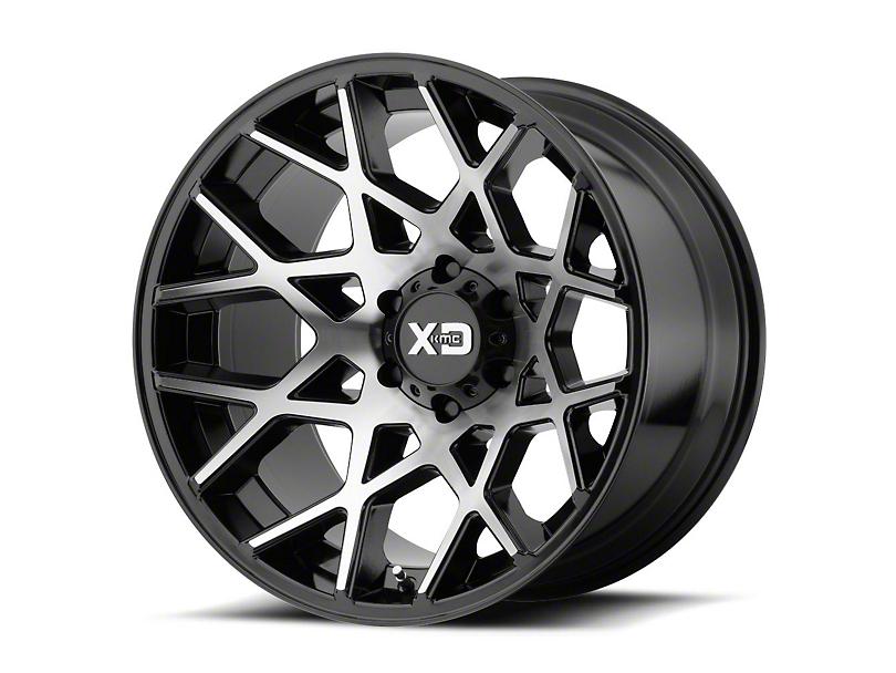 XD Chopstix Gloss Black Machined 6-Lug Wheel - 22x12 (04-19 F-150)