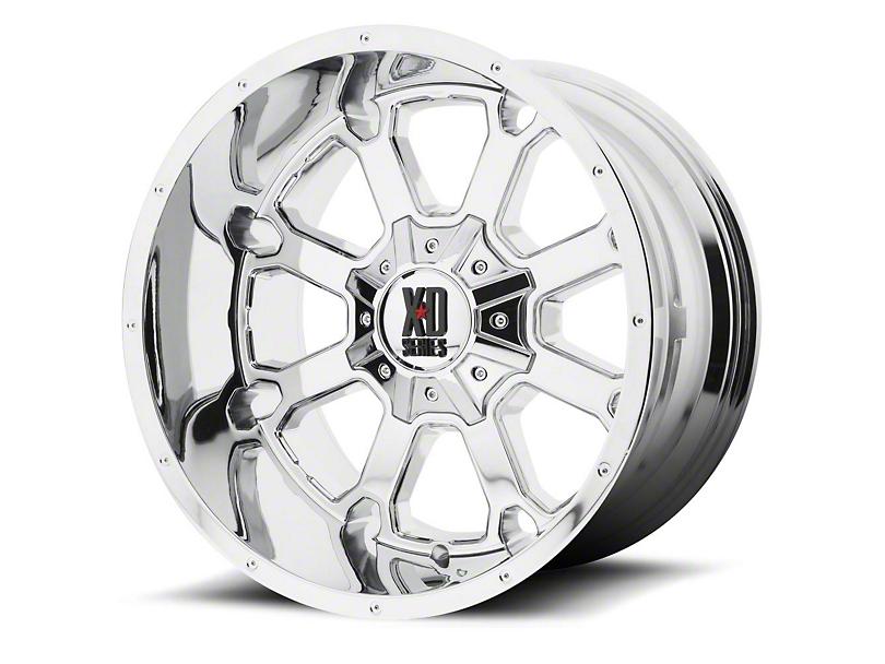 XD Buck 25 Chrome 6-Lug Wheel - 20x12 (04-19 F-150)