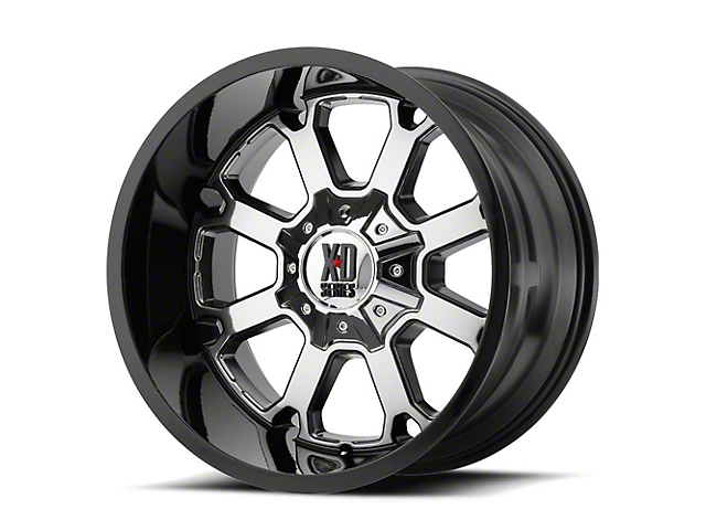 XD Buck 25 PVD w/ Gloss Black Lip 6-Lug Wheel - 22x10; -18mm Offset (15-19 F-150)