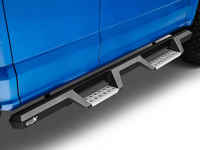 Westin HDX Drop BPS Nerf Side Step Bars - Textured Black (15-19 F-150 SuperCab, SuperCrew)