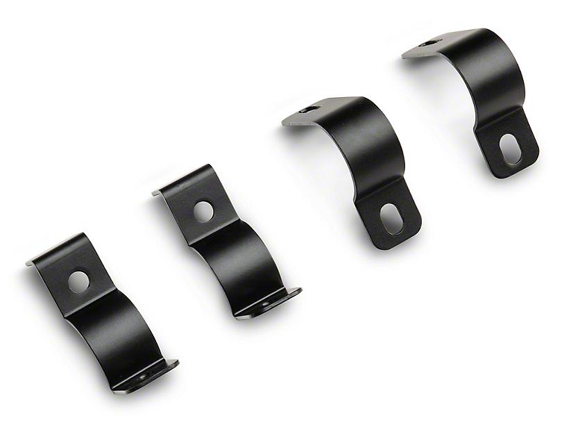 HDX Grille Guard Light Clamps; Black