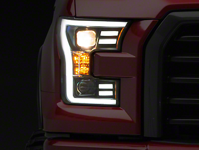 Raxiom Black Projector Headlights (15-17 F-150 w/ Halogen Headlights)