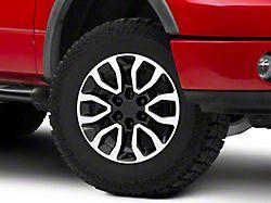 Gen2 Raptor Style Black Machined 6-Lug Wheel - 18x9; 34mm Offset (04-08 F-150)