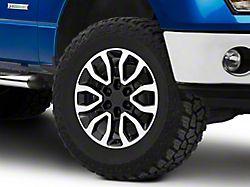 Gen2 Raptor Style Black Machined 6-Lug Wheel - 18x9; 34mm Offset (09-14 F-150)