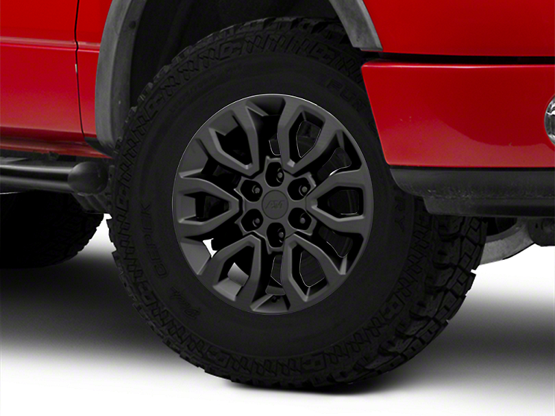 Gen2 Raptor Style Matte Black 6-Lug Wheel - 18x9; 34mm Offset (04-08 F-150)