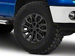 Gen2 Raptor Style Matte Black 6-Lug Wheel; 18x9; 34mm Offset (09-14 F-150)