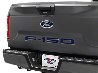 Blue Tailgate Insert Letters (18-19 F-150)