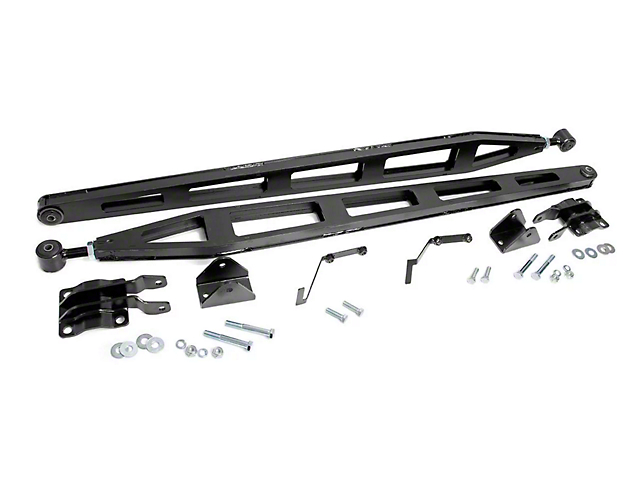 Rough Country Traction Bar Kit for 5 to 6-Inch Lift (15-20 4WD F-150, Excluding Raptor)