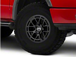 RTR Tech 6 Satin Black 6-Lug Wheel; 17x9; 0mm Offset (04-08 F-150)