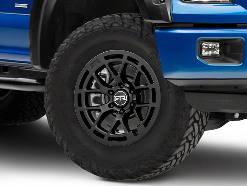 RTR Tech 6 Satin Black 6-Lug Wheel - 18x9 (04-19 F-150)