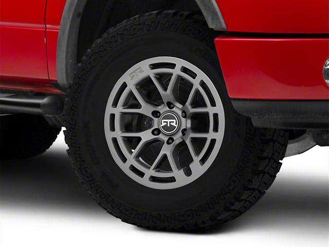RTR Tech 6 Satin Charcoal 6-Lug Wheel; 18x9; 18mm Offset (04-08 F-150)