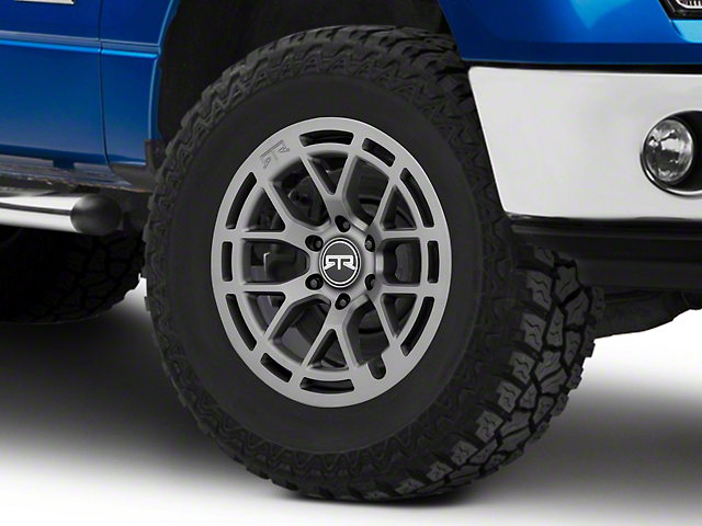 RTR Tech 6 Satin Charcoal 6-Lug Wheel - 18x9; 18mm Offset (09-14 F-150)