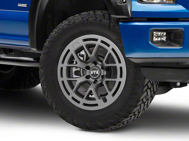 RTR Tech 6 Satin Charcoal 6-Lug Wheel - 20x9; 0mm Offset (15-20 F-150)