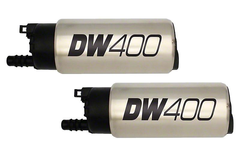 DeatschWerks 415 LPH In Tank Fuel Pump w/ Install Kit (99-03 F-150 Lightning; 02-03 F-150 Harley Davidson)