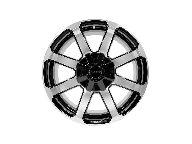 Shelby CS17 Black Machined 6-Lug Wheel - 18x8.5; 18mm Offset (15-19 F-150)