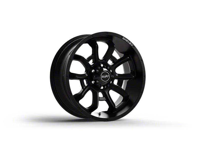 Shelby CS44 Black 6-Lug Wheel; 20x9; 12mm Offset (15-20 F-150)