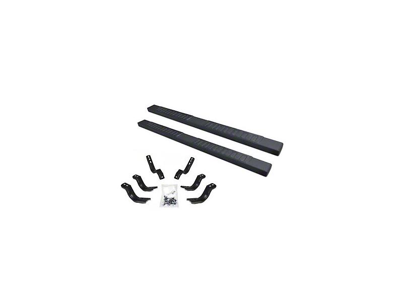 Go Rhino 6 in. OE Xtreme II Side Step Bars - Textured Black (04-14 F-150 SuperCab)