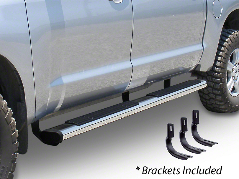 Go Rhino 6 in. OE Xtreme Side Step Bars - Stainless Steel (04-14 F-150 SuperCab)
