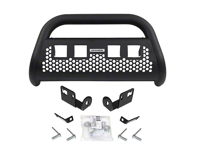 Go Rhino RC2 LR Bull Bar w/ Four LED Cube Light Mounting Brackets - Textured Black (04-08 F-150)