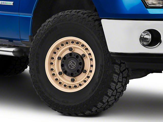 Black Rhino Armory Desert Sand 6-Lug Wheel; 17x9.5; 6mm Offset (09-14 F-150)