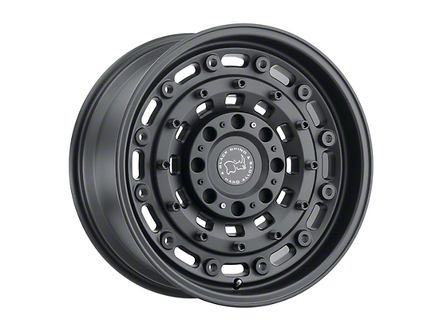 Black Rhino Arsenal Textured Matte Black 6-Lug Wheel; 20x9.5; 12mm Offset (15-20 F-150)
