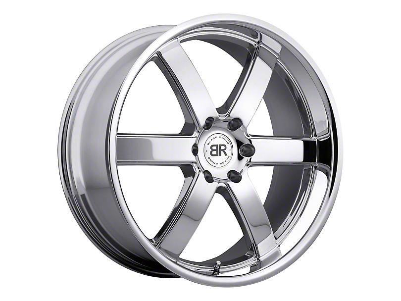 Black Rhino Pondora Chrome 6-Lug Wheel; 24x10; 35mm Offset (15-20 F-150)