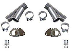 Granatelli Motor Sports Manual Exhaust Cutout; 3-Inch; Pair (Universal Fitment)