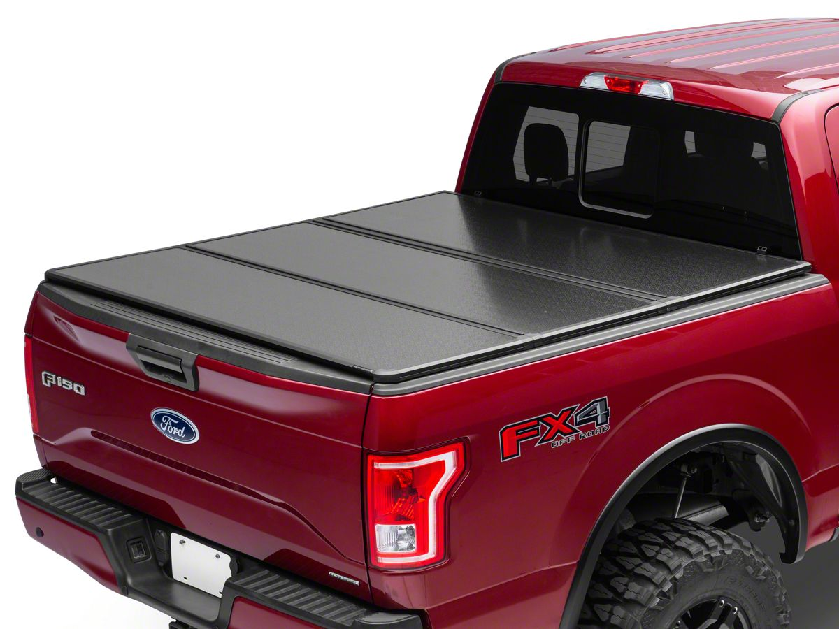 Rough Country F 150 Hard Tri Fold Tonneau Cover T540850 15 20 F 150