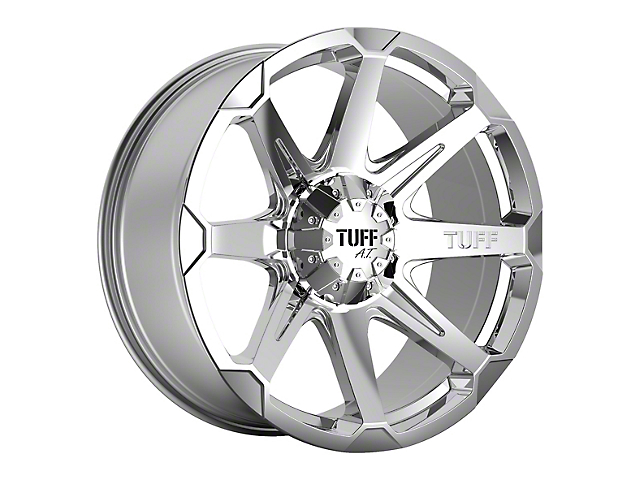 Tuff A.T. T05 Chrome 5-Lug Wheel - 22x10; -20mm Offset (97-03 F-150)