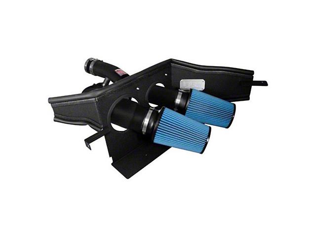 Injen Power-Flow Cold Air Intake; Wrinkle Black (15-20 3.5L EcoBoost F-150, Excluding Raptor)