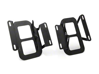LED Cube Fog Light Mounting Brackets (15-17 F-150, Excluding Raptor)